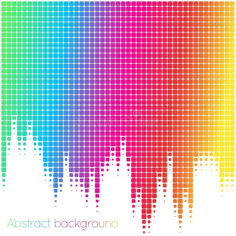 färgrik mosaik för abstrakt bakgrund också vektor för coreldrawillustration royaltyfri fotografi