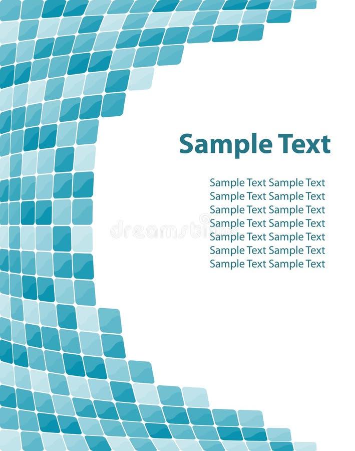 färgrik mosaik för bakgrund vektor illustrationer