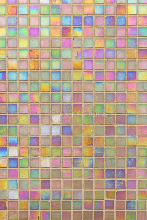 färgrik mosaikmodell royaltyfri fotografi