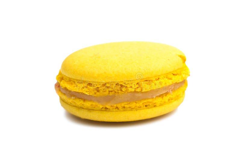 Färgrik och smaklig franska Macarons arkivfoton