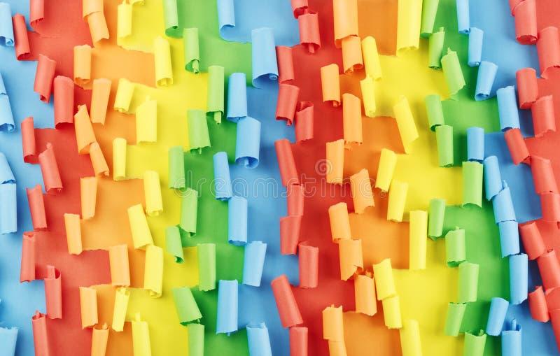 Färgrik pappers- bakgrund arkivbilder