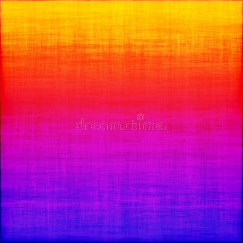 Färgrik ram för lutning för abstrakt begrepp för Ombre Grungebakgrund royaltyfri illustrationer