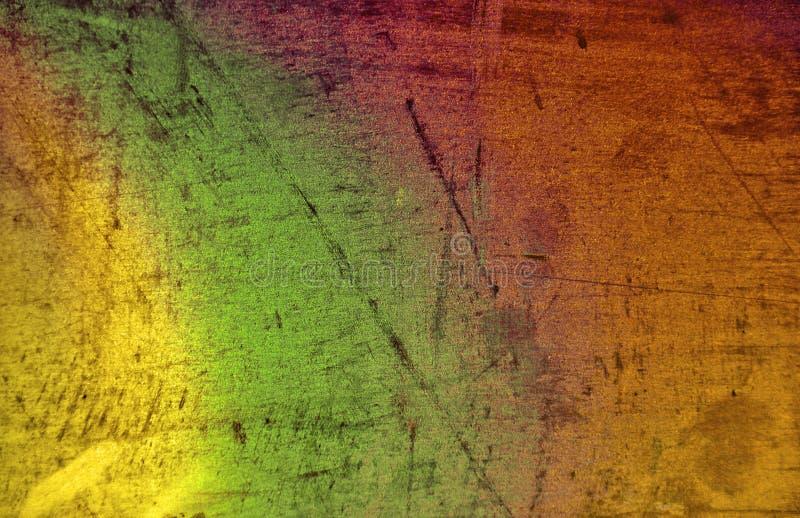 Färgrik rostig tenn- bakgrund arkivfoto