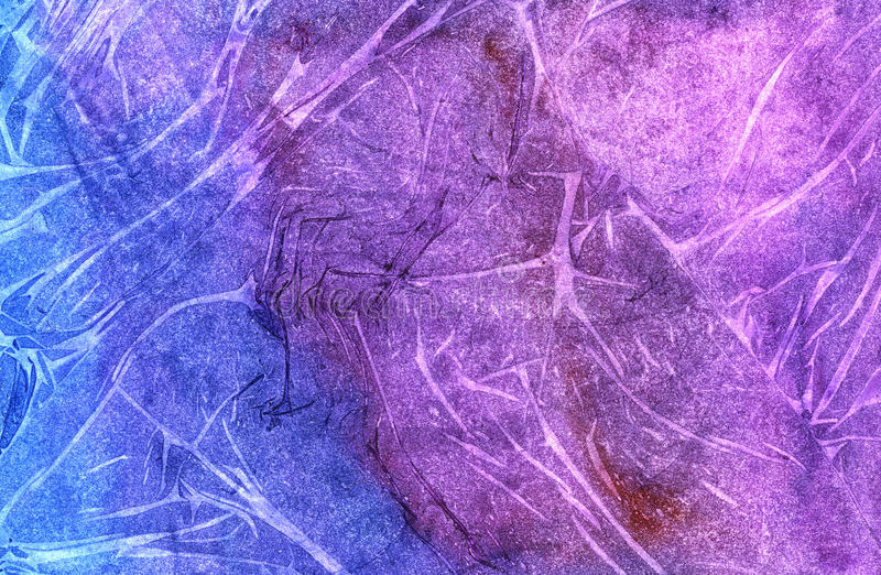 Färgrik rynkig pappers- textur arkivfoto