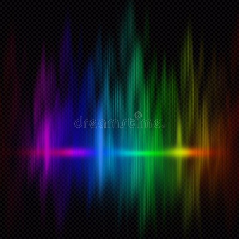 Färgrik spectrumbakgrund royaltyfri foto