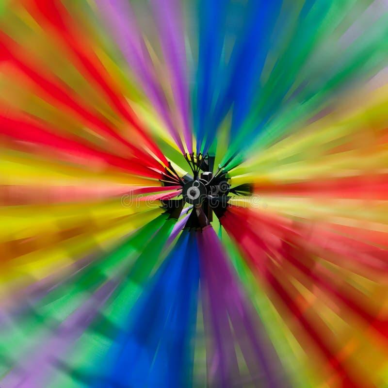 färgrik spinner arkivfoton