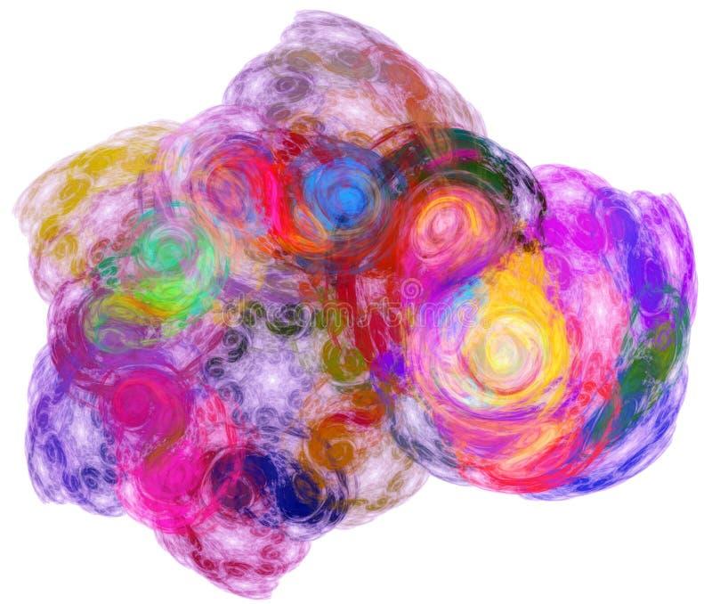 färgrik stråle för oklarhet vektor illustrationer