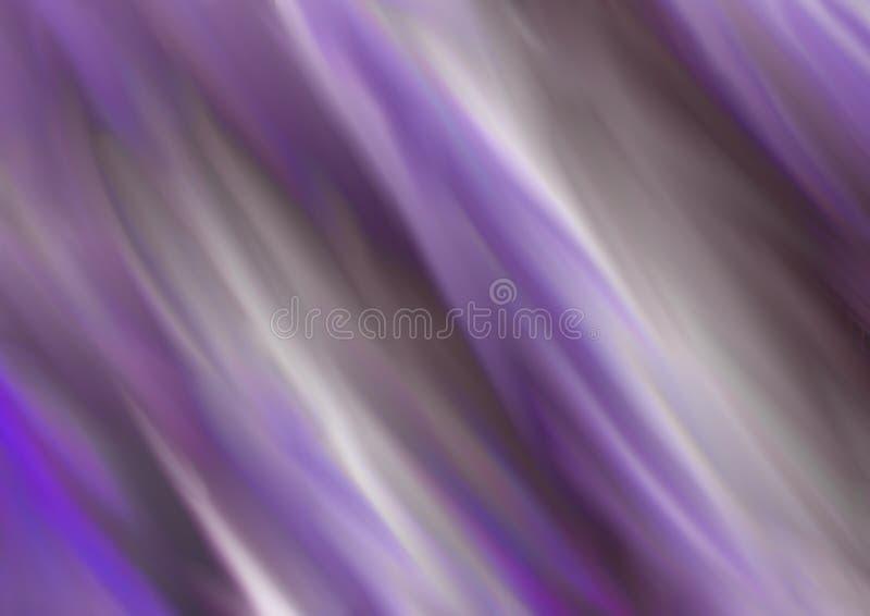 Färgrik suddig abstrakt bakgrund i lila- och bruntsignaler royaltyfri illustrationer