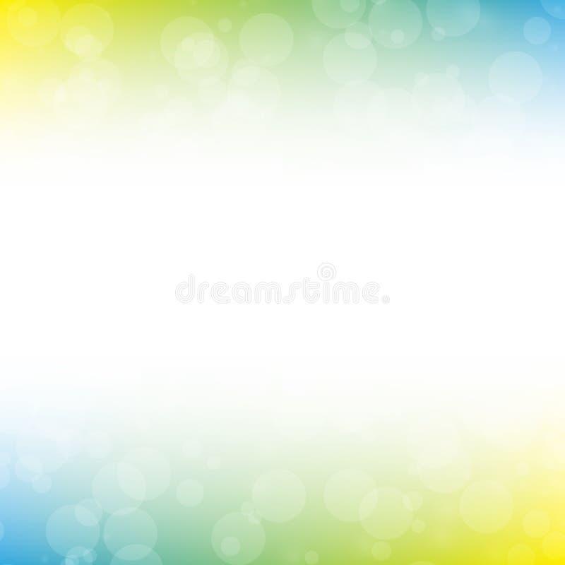 Färgrik suddighetsabstrakt begreppbakgrund royaltyfri bild