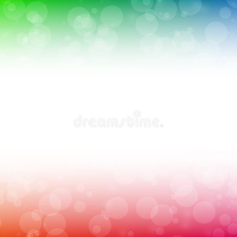 Färgrik suddighetsabstrakt begreppbakgrund arkivfoton