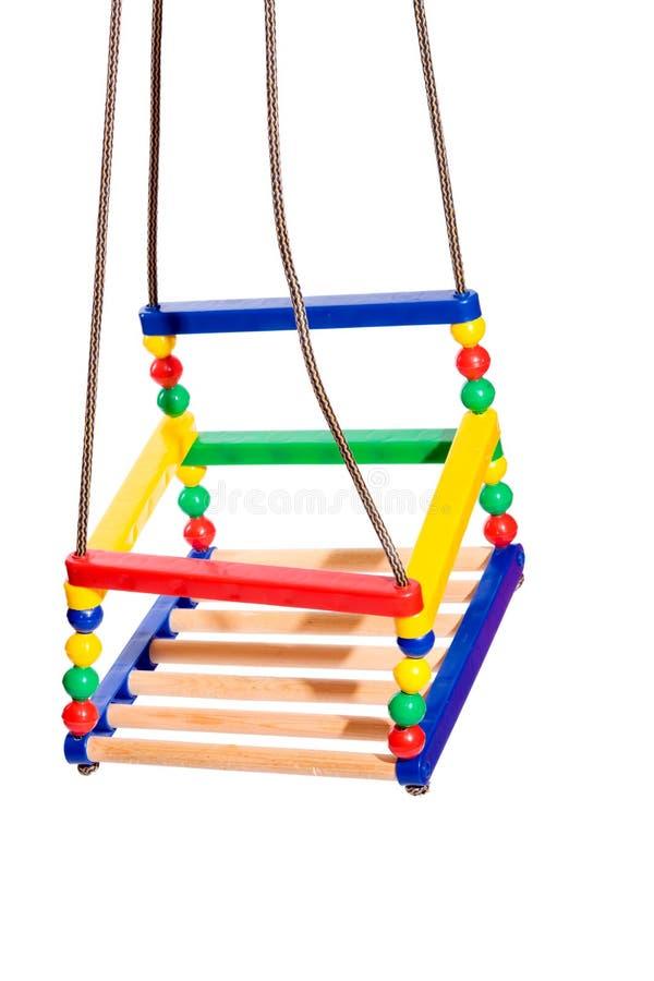färgrik swing royaltyfri bild
