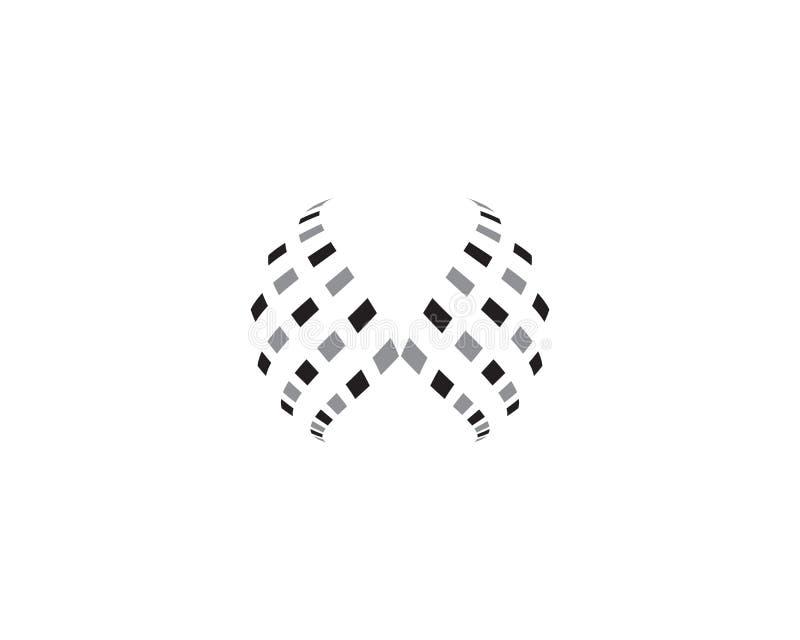 Färgrik symbol för trådvärldslogo vektor illustrationer