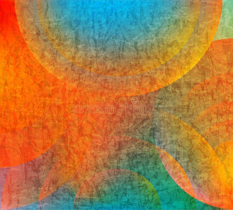 Färgrik textur för abstrakt sten stock illustrationer