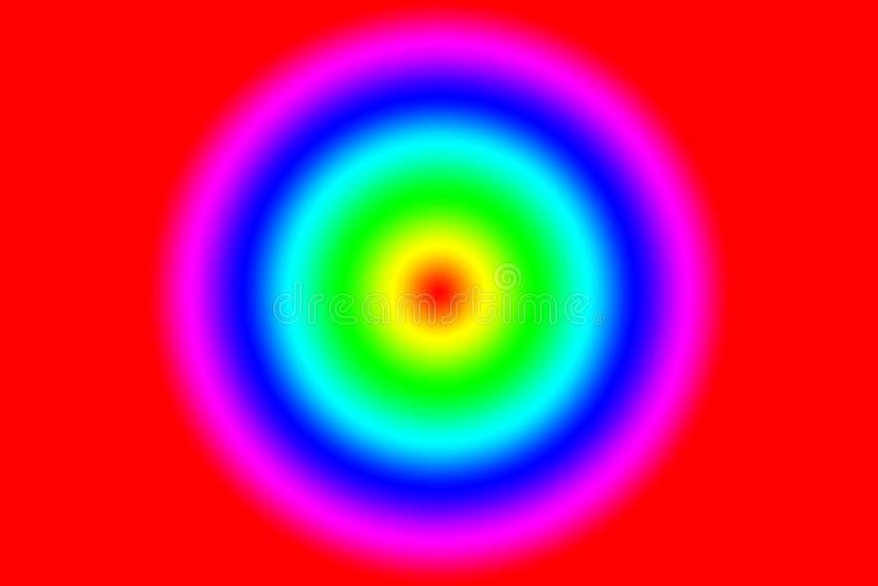 Färgrik textur för regnbågeabstrakt begreppmodell Mång--färgad lutningbakgrund illustration vektor illustrationer