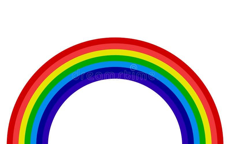 Färgrik textur för regnbågeabstrakt begreppmodell Mång--färgad lutningbakgrund illustration stock illustrationer