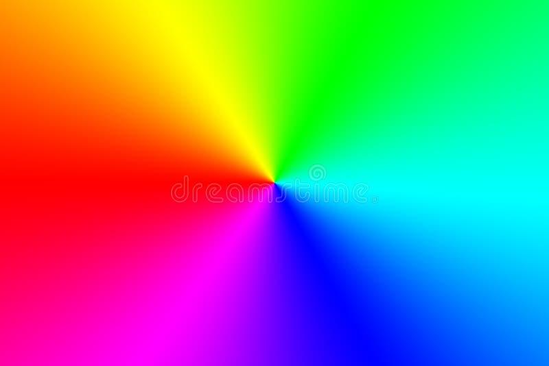 Färgrik textur för regnbågeabstrakt begreppmodell Mång--färgad lutningbakgrund illustration royaltyfri illustrationer