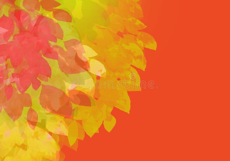 färgrik vattenfärg för abstrakt bakgrund Digital konstmålning arkivfoto