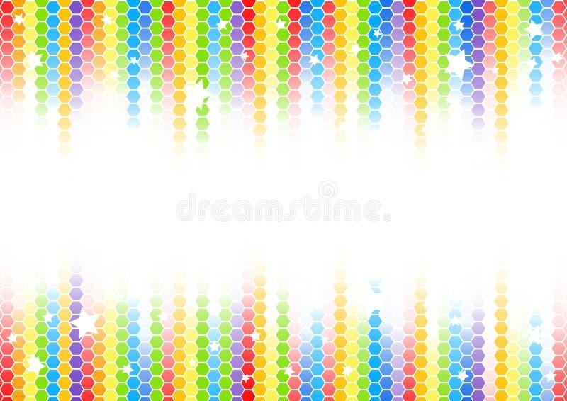 färgrik vektor för abstrakt bakgrund royaltyfri illustrationer