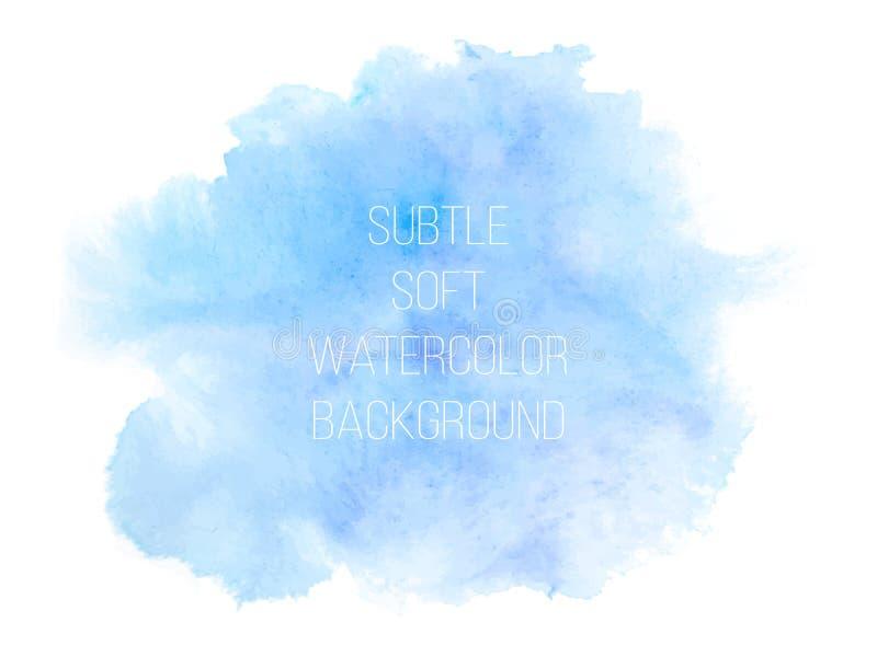 färgrik vektor för abstrakt bakgrund Mjuk blått- och gräsplanwaterc royaltyfri illustrationer