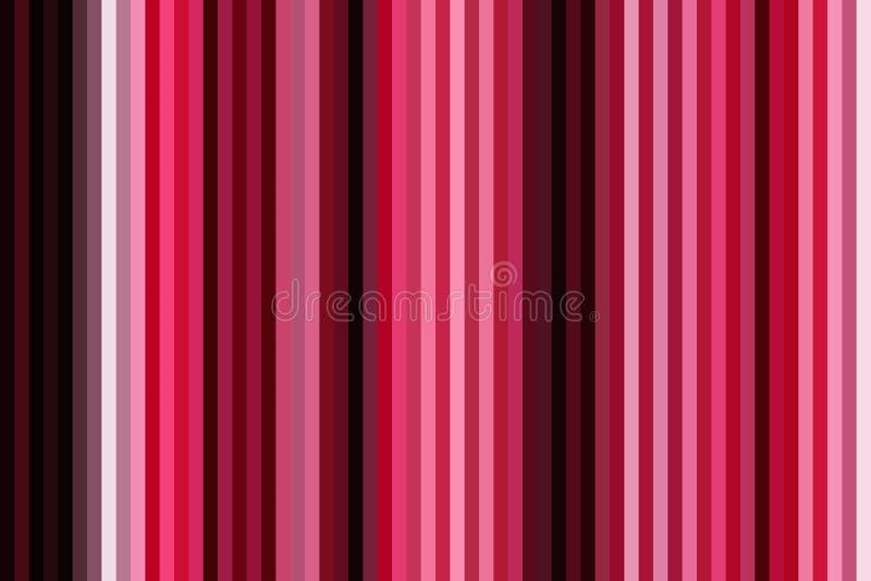 Färgrik vertikal linje bakgrund eller sömlös randig tapet, designregnbåge vektor illustrationer