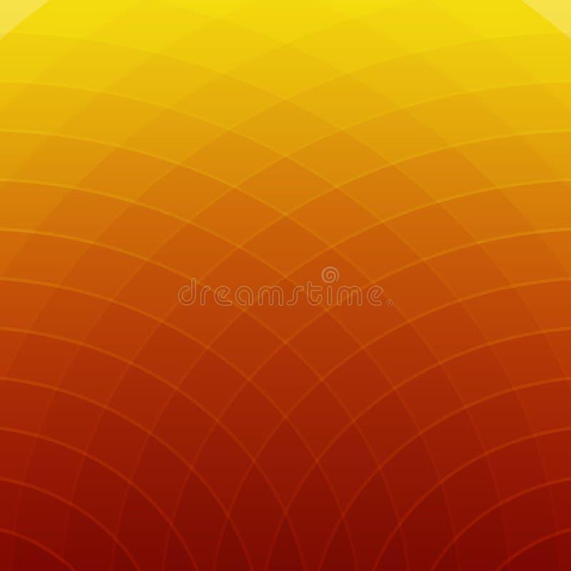 Färgrika abstrakta geometriska linjer bakgrund stock illustrationer