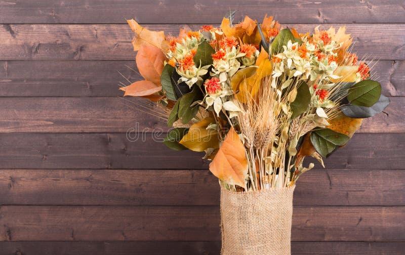 Färgrika Autumn Bouquet arkivfoto