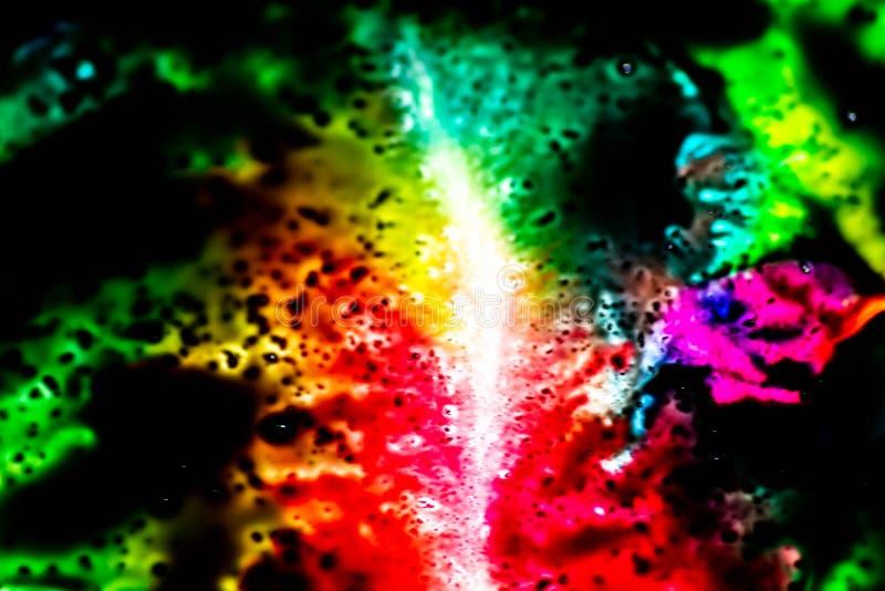 Färgrika bakgrunder med primära färger som blandar tillsammans ljusa färger och stark kontrast dem emellan Livlig bakgrund royaltyfria foton