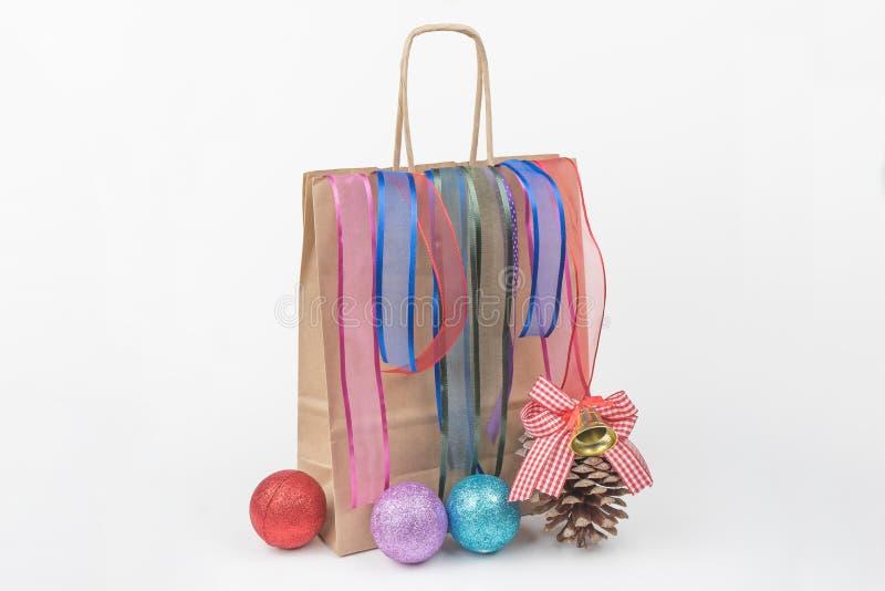 Färgrika gåvapackar, nytt år, dag för valentin` s fotografering för bildbyråer