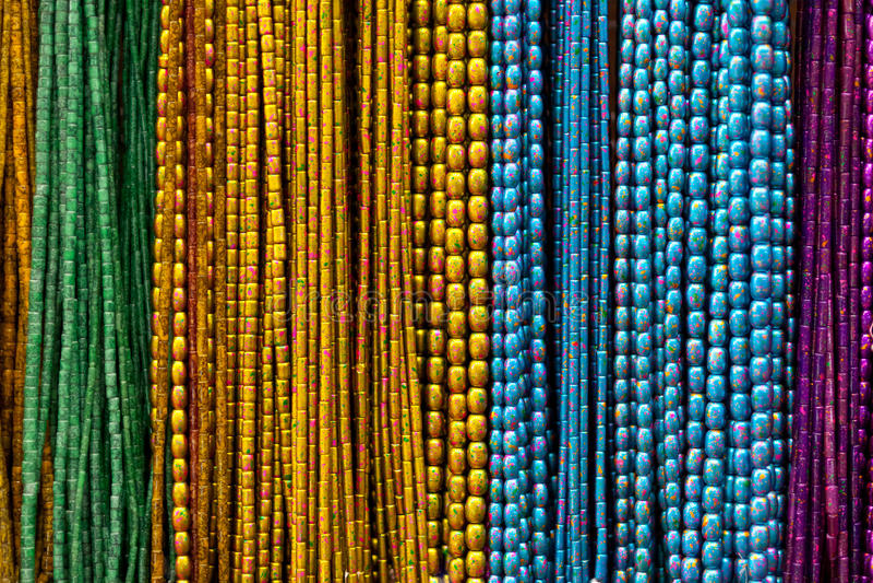 färgrika halsband ii royaltyfri bild