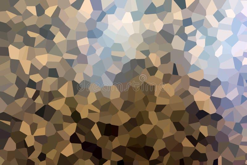Färgrika konstgjorda plast- diamanter Bästa sikt på delen av bilden arkivbilder