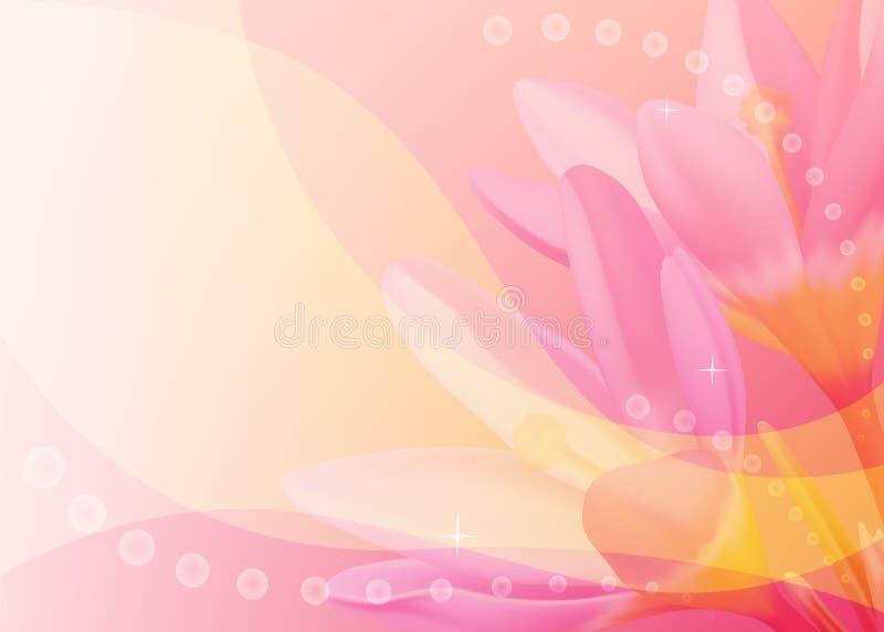 färgrika krokusar för bakgrund stock illustrationer