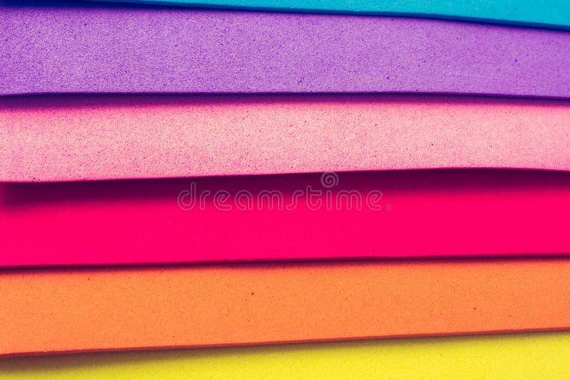 Färgrika lager för materiell design arkivbilder