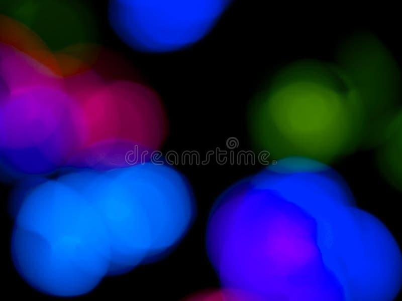 färgrika lampor för bakgrund fotografering för bildbyråer