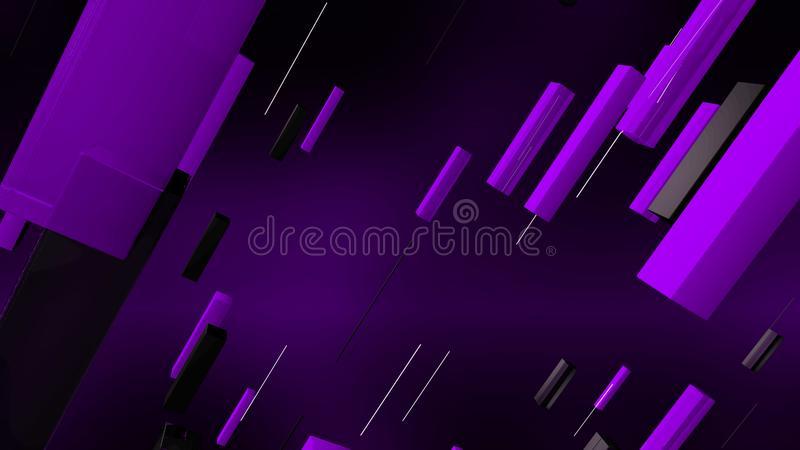 Färgrika linjer förlade skev bakgrund vektor illustrationer