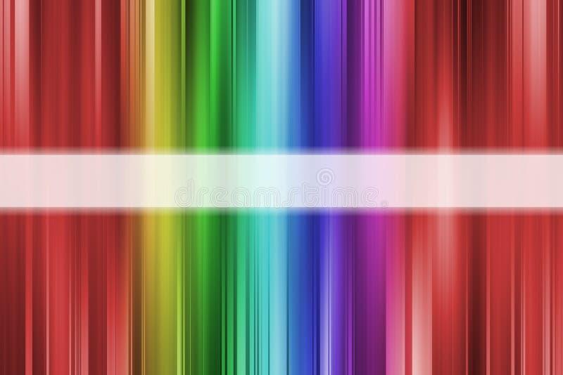färgrika linjer regnbåge för bakgrund vektor illustrationer