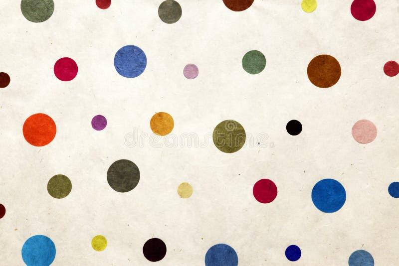 färgrika prickar arkivbilder