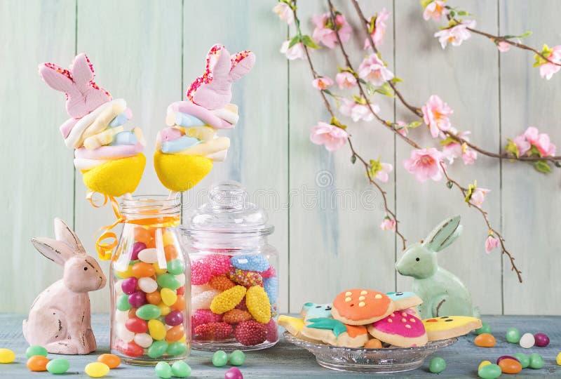 Färgrika sötsaker royaltyfria bilder