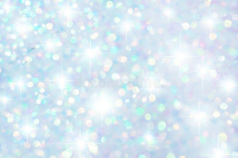 Färgrika stjärnor och bokehbakgrund royaltyfri foto
