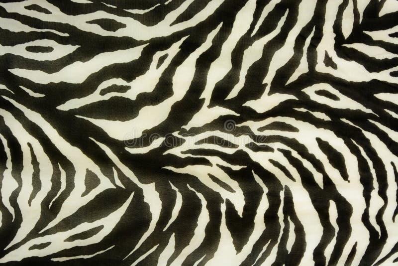 Färgrika texturer av tigern royaltyfri illustrationer