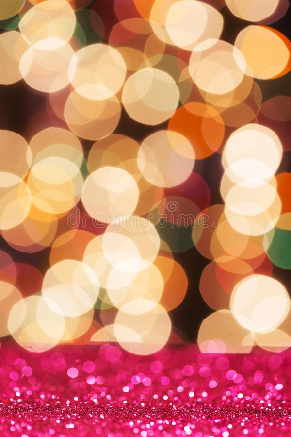 Färgrikt blänka ljus royaltyfri foto