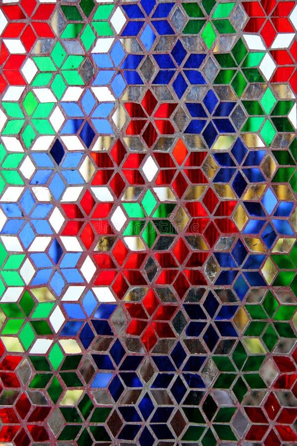 färgrikt exponeringsglas gjorde modell s thai arkivbilder