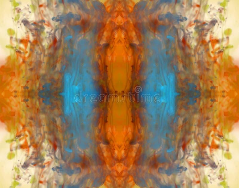 färgrikt färgpulver för bakgrund arkivfoto