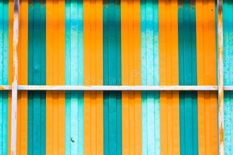 Färgrikt galvaniserat ark, bakgrund för textur för metallark, Moder arkivbilder
