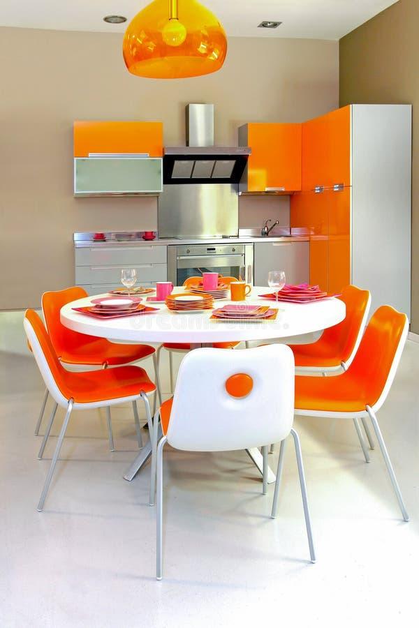 färgrikt kök arkivbilder