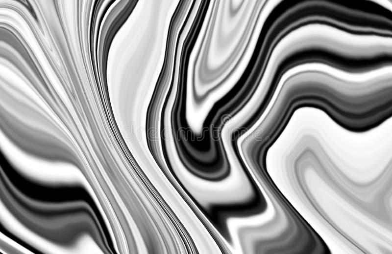 Färgrikt marmorfärgpulver Färgrika grå färger marmorerar modellen av blandningnollan royaltyfri bild