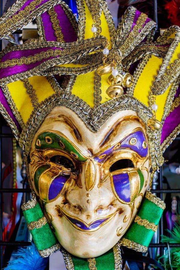 Färgrikt maskera royaltyfria foton
