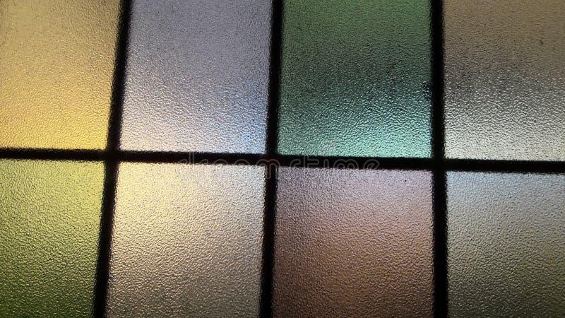 Färgrikt reflektera spegeln royaltyfri foto