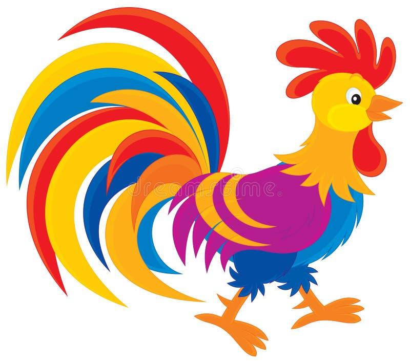 Rooster stock illustrationer