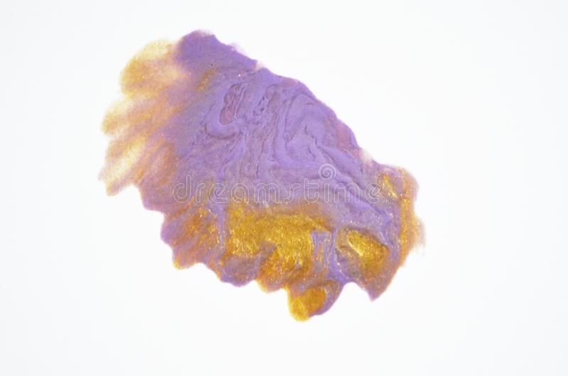 färgrikt spika polermedel arkivbild