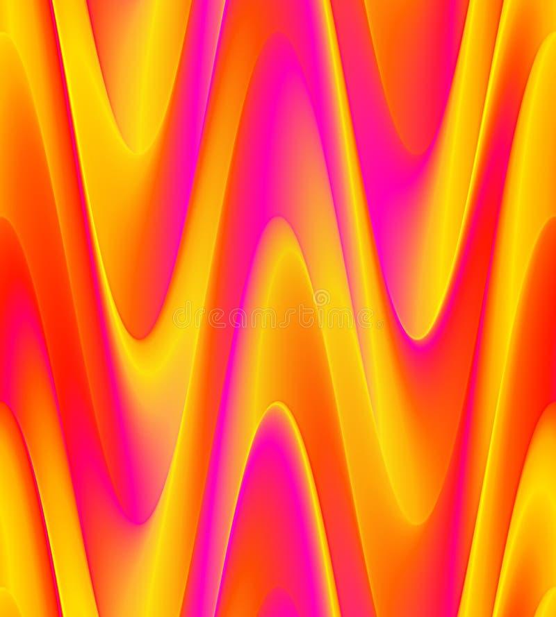 Färgrikt vinkar bakgrund stock illustrationer